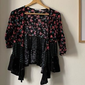 Urban Outfitters Floral Cardigan